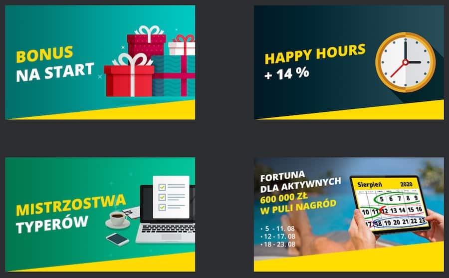 nowy bonus fortuna online