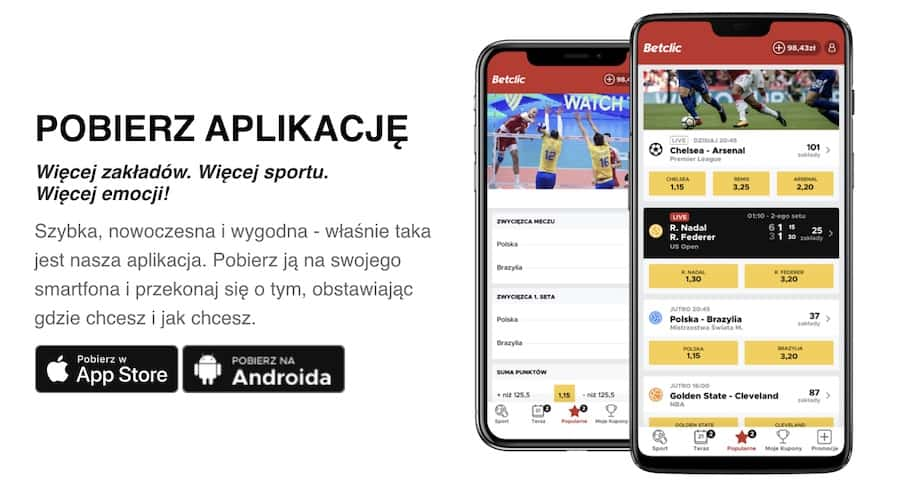najlepsze aplikacje bukmacherów online